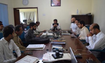 گندھارا ہندکو اکیڈمی دا ایک سو اٹھانواں عمومی انتظامی اجلاس بروز ہفتہ 18 مئ 2019