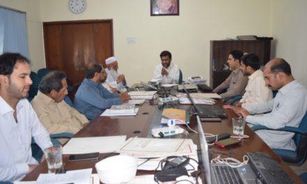 گندھارا ہندکو اکیڈمی دا عمومی انتظامی اجلاس نمبر 203  بروز ہفتہ 29 جون 2019
