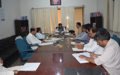 گندھارا ہندکو اکیڈمی دا عمومی انتظامی اجلاس نمبر 291